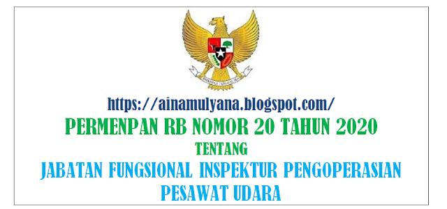 Peraturan Menpan atau Permenpan RB Nomor 20 Tahun 2020