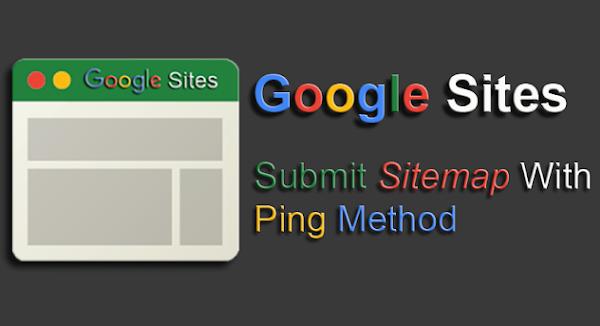 Cara PING Sitemap di Google Webmaster