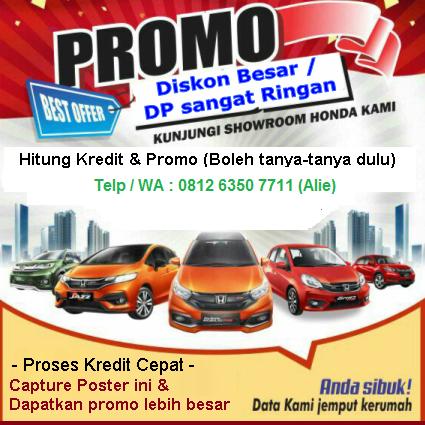 Promo Mobil Honda Medan 2021 Diskon Harga Kredit Brio Hrv Mobilio Civic Crv Jazz Brv Cashback Besar Cicilan Dp Ringan