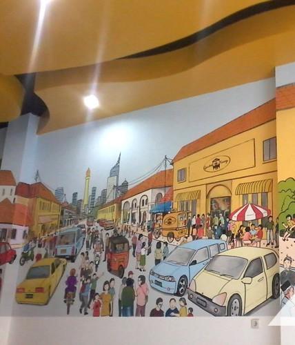Lukisan Mural Gedung