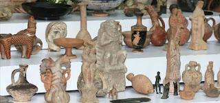 الأمن يضبط أكثر من 1000 قطعة أثرية تاريخية في اسطنبول