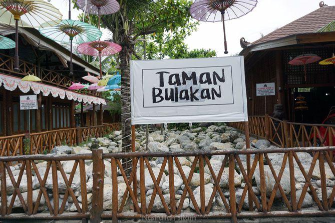 Tempat foto ala-ala bernama Taman Bulakan