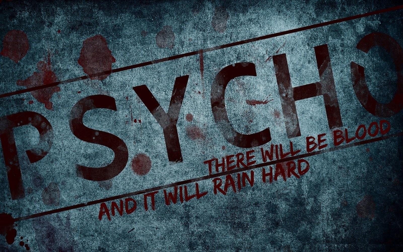 Free-Art-Tech: Psycho Wallpaper