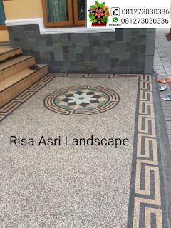 Jasa spesialis pemasangan Batu sikat Jakarta barat terbaik dan