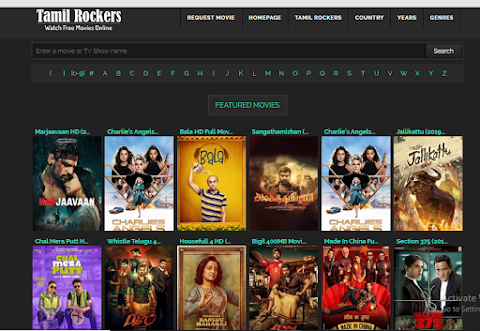 Tamilrockers 2020 New site, Download Tamil, Telugu, and Hindi Movies, Tamilrockers Hollywood movie download