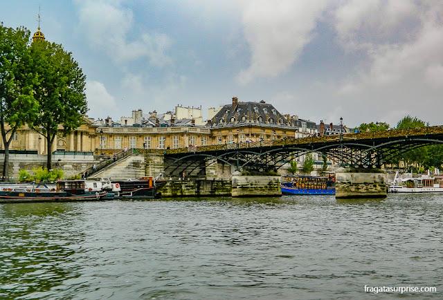 Passeio de barco pelo Rio Sena, Paris