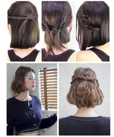 Model Gaya Rambut Pendek Cantik