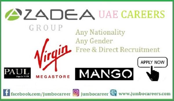 Azadea Group UAE Careers 2021