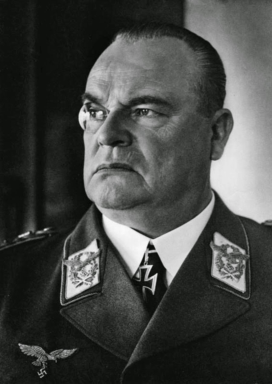 Hugo Sperrle, Commander-in-Chief West, 1940.