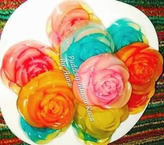 Resep Pudding Mawar Kaca Sederhana Namun Menakjubkan
