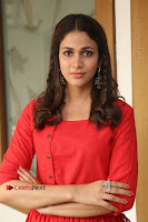 Actress Lavanya Tripathi Latest Pos in Red Dress at Radha Movie Success Meet .COM 0209.JPG