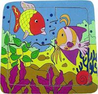 Mainan Anak Berkualitas Puzzle Ikan