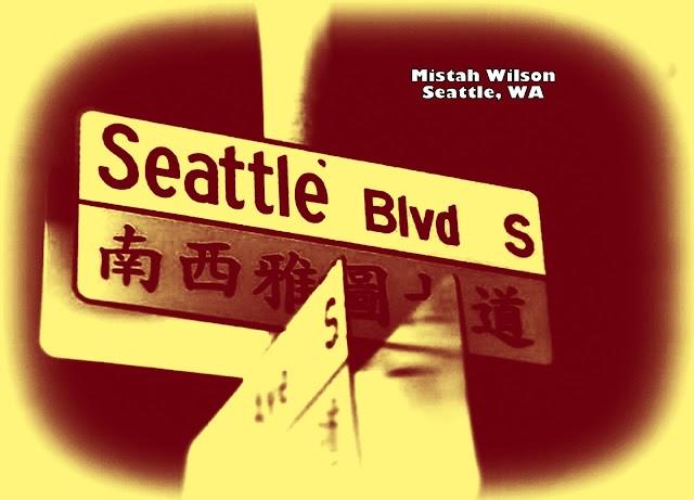 Seattle Boulevard, Seattle, Washington by Mistah Wilson