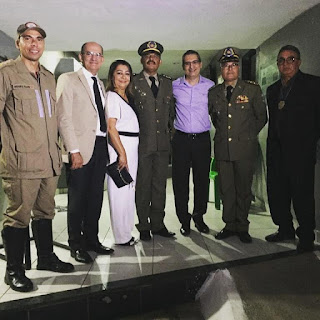 Dr. Teotônio e a vereadora Neide prestigiaram   a solenidade Militar em alusão à conclusão do Curso de Formação de Soldados da Polícia Militar, de Guarabira PB
