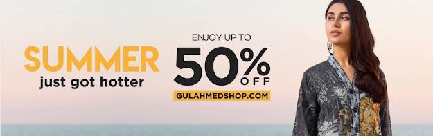 Gul Ahmed summer sale