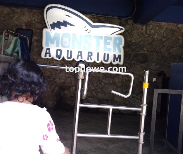 MOnster aquarium cimory riverside bogor