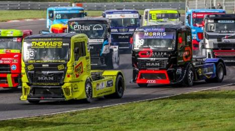 Truck Racing Championship Launch Trailer