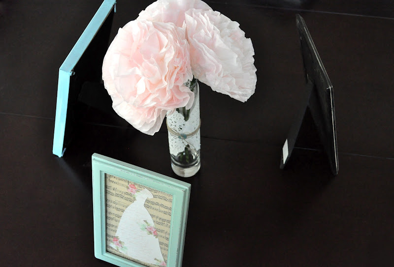 Framed Dresses Centerpiece Tutorial Little Birdie Secrets