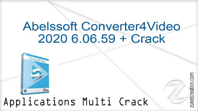 Abelssoft Converter4Video 2020 6.06.59 + Crack