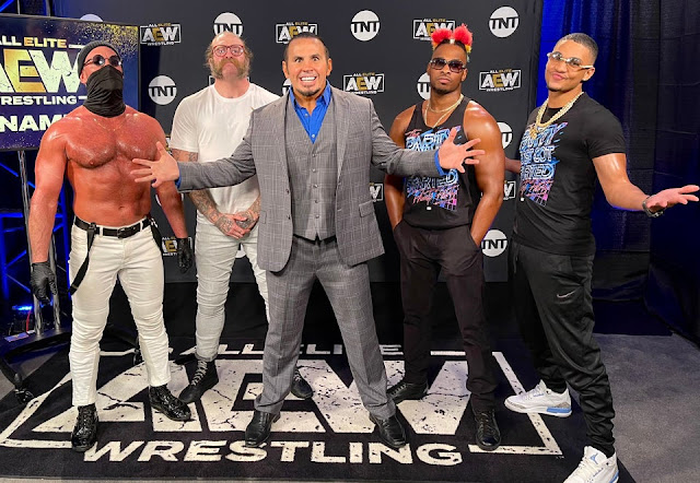 Big Money Matt Hardy and his proteges.  StrengthFighter.com