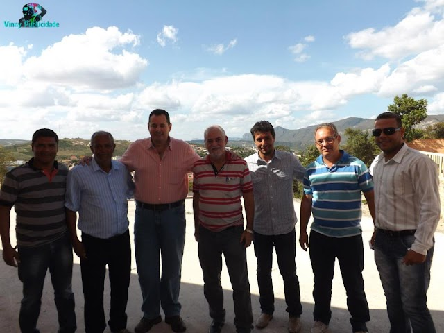 Deputado Nelson Leal visita o Prefeito eleito Arnaldo Silva Pires