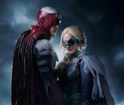 """Hawk y Dove en """"Titans"""" - DC Comics"""