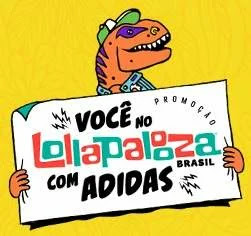 Cadastrar Promoção Adidas 2019 Ingressos Lollapalooza Brasil