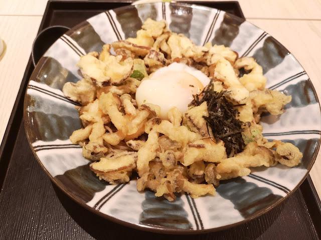 Tenchirashi Soba