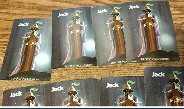 jack lord of aggression cards
