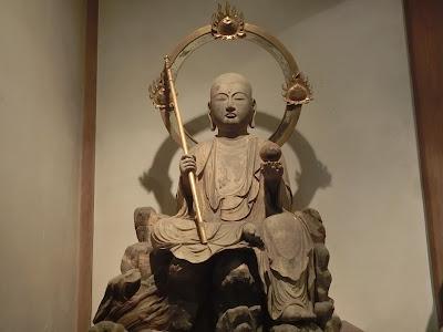 木造地蔵菩薩半跏像