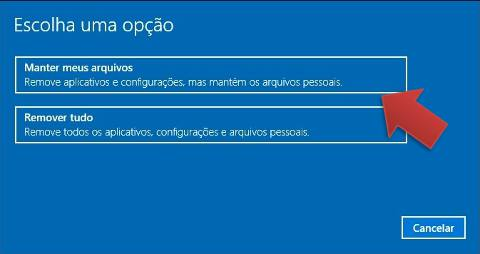 repor windows 10