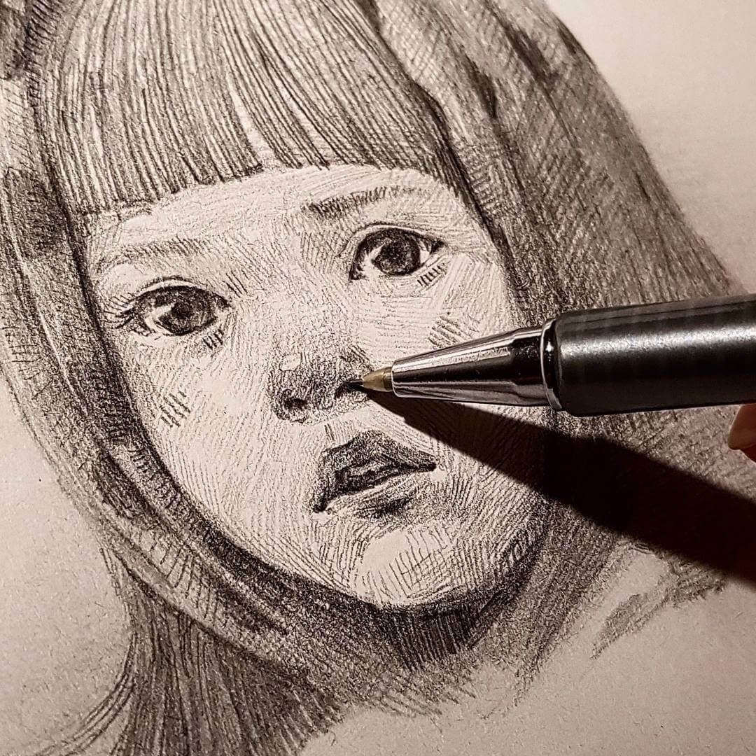 03-Yun-Ho-Kim-Expressions-in-Different-Pencil-Portrait-Styles-www-designstack-co