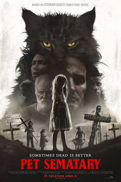 Poster of Pet Sematary (2019) Dual Audio [Hindi-DD5.1] 1080p BluRay ESubs Download