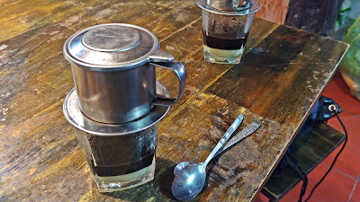 kawa wietnamska z mlekiem skondensowanym