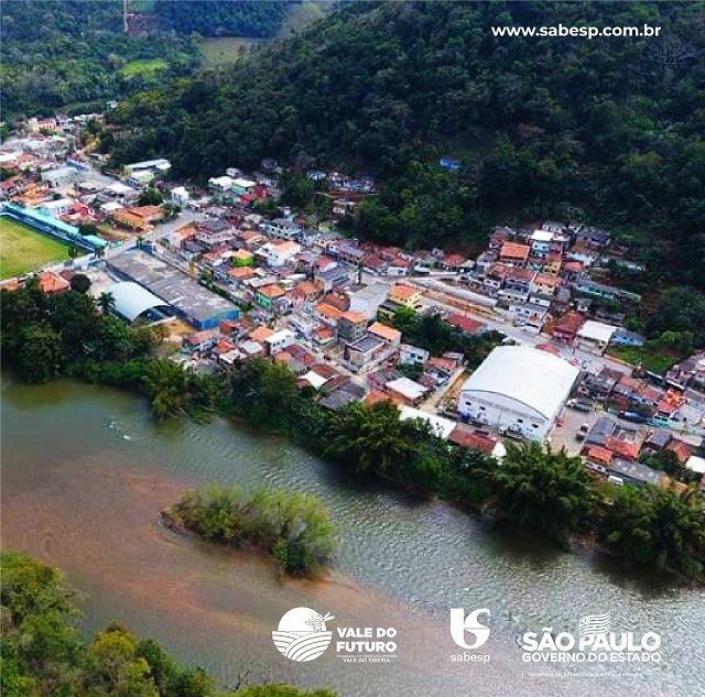 Sabesp conclui a implantação de esgoto no bairro Saltinho e dará início a obras no bairro Catas Altas, ambas no município de Ribeira