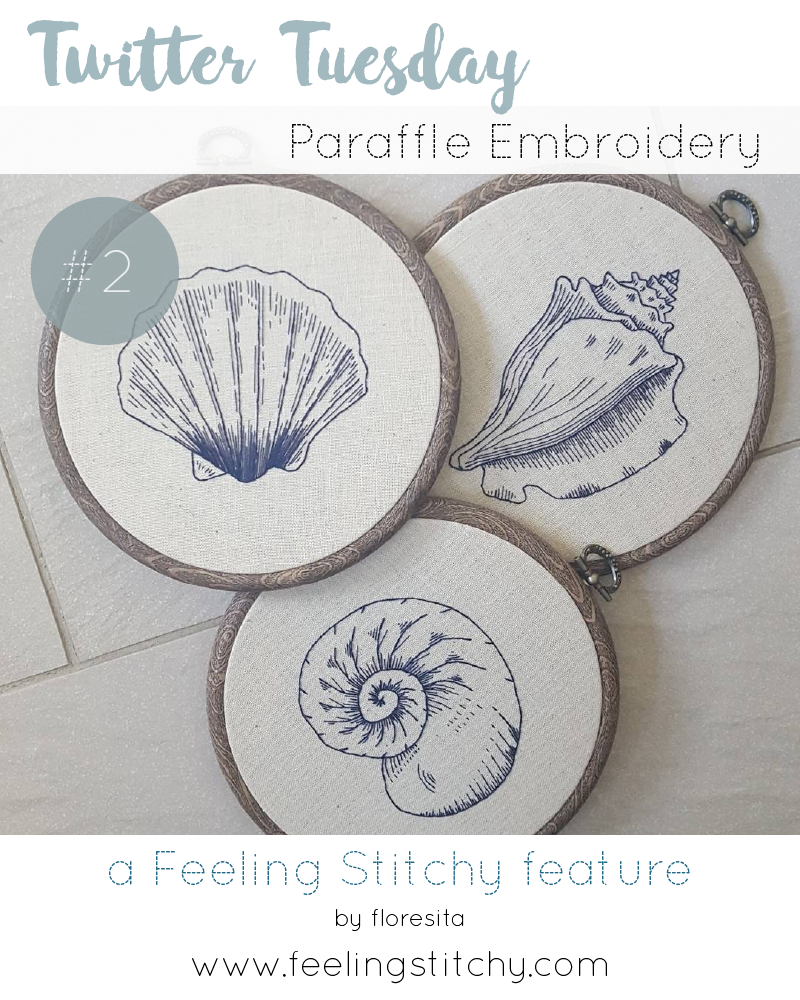 Twitter Tuesday 2 - Paraffle Embroidery, a Feeling Stitchy feature by floresita