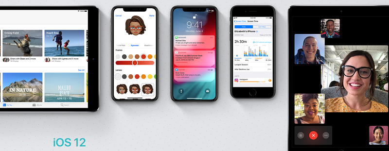 Top 5 iOS 12 new added features that you need to know