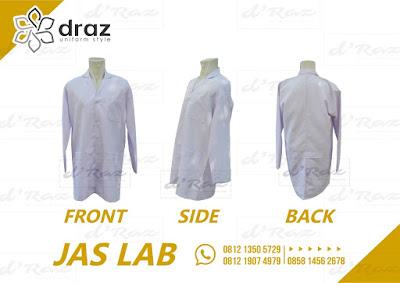 Harga Konveksi Baju Laboratorium Lengan Panjang satuan Murah 0812 1350 5729