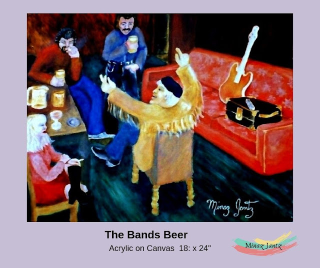 The Bands Beer by Minaz Jantz
