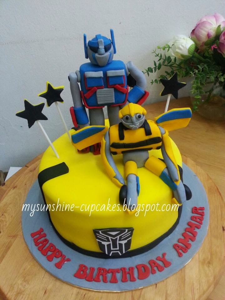 Mysunshine Cake Chocolate Moist Cake Wt Transformers