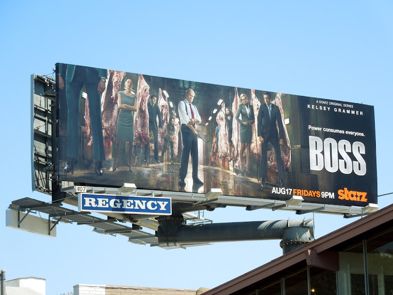 Boss season 2 Starz billboard