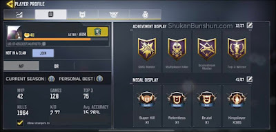 Jual Akun CoD Mobile Grup Call of Duty Indonesia
