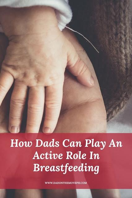 Dad's participation in breastfeeding