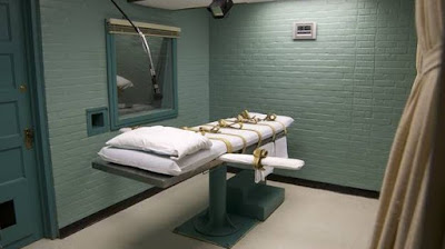 Texas' death chamber, The Walls Unit, Huntsville, Texas