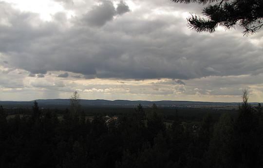 Panorama z Cisowskiej.