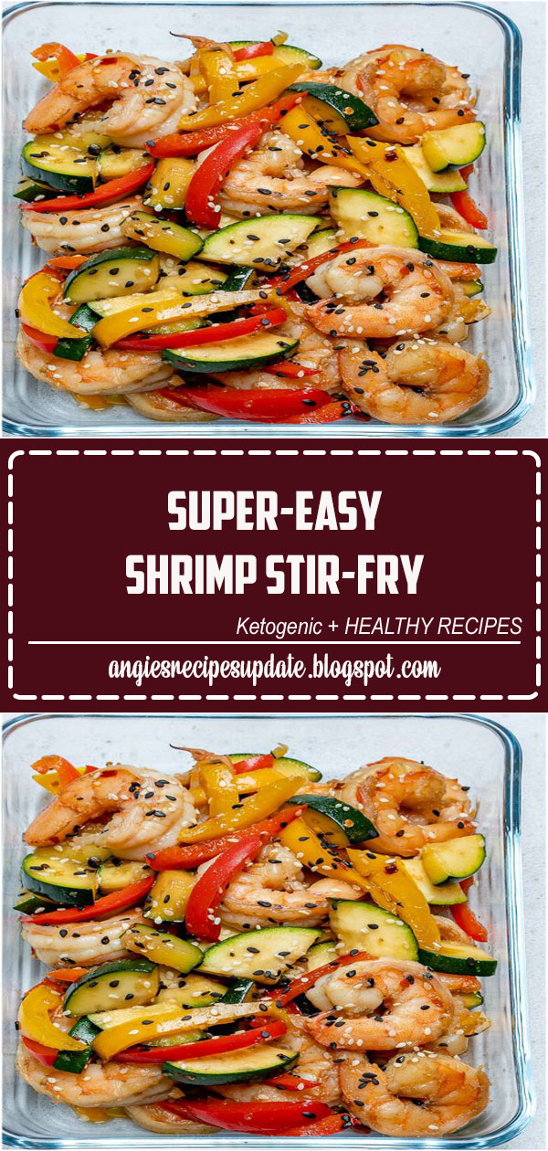 The third recipe in our FOUR part series featuring FOUR different, but completely interchangeable Stir-Fry (meal prep) recipes. They are each made with LOTS of veggies + a simple delicious homemade stir fry sauce that you make just once and can use for all four recipes! Meal Prep made SUPER..