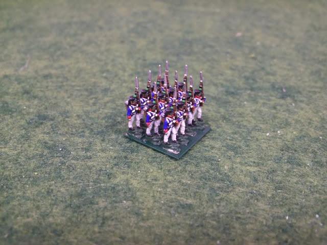 InkBiz 1:200 French Infantry painted