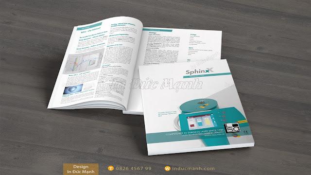 mẫu catalogue y tế
