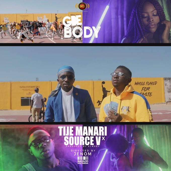 [MUSIC] Tije Manari – Gbe Body Ft. Source V (prod. By @Elmore)