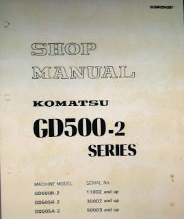 Komatsu GD 505A-2 GD 500R-2 GD 505R-2